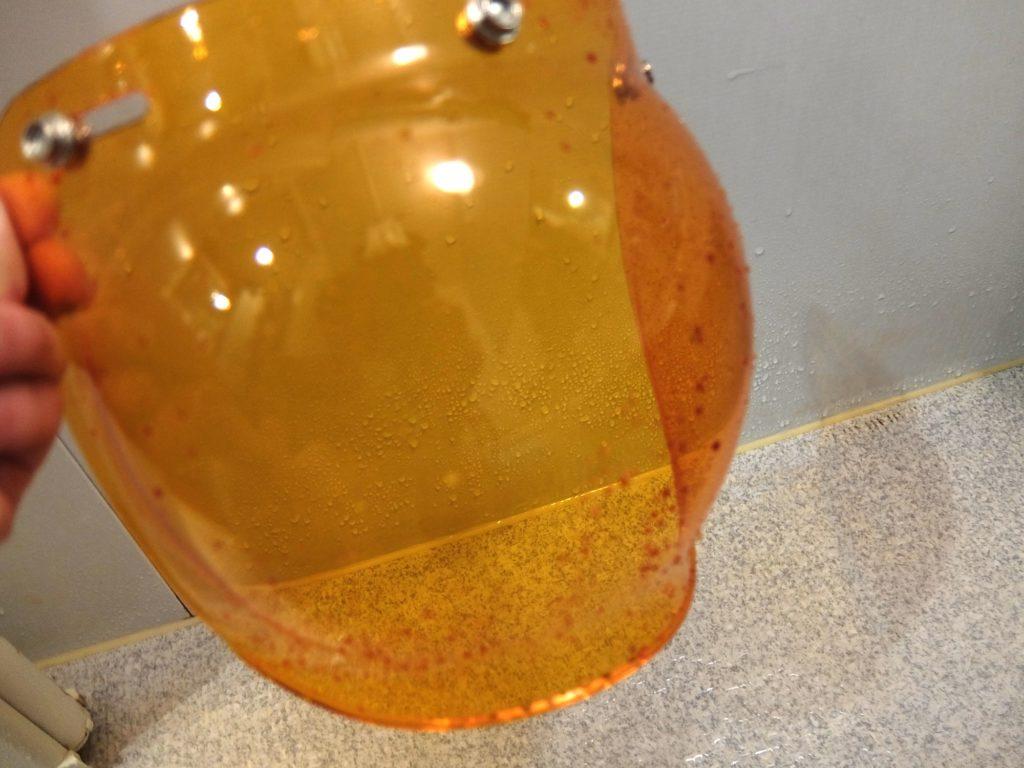 ガラコ施工シールド水滴