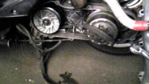 原付バイク、スクーター、駆動系の調子が悪い時にチェックするポイント